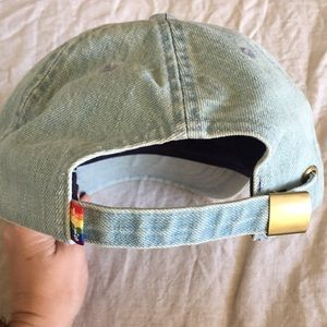 Levi's Accessories - Levi's Jean baseball hat with a rainbow logo NWT